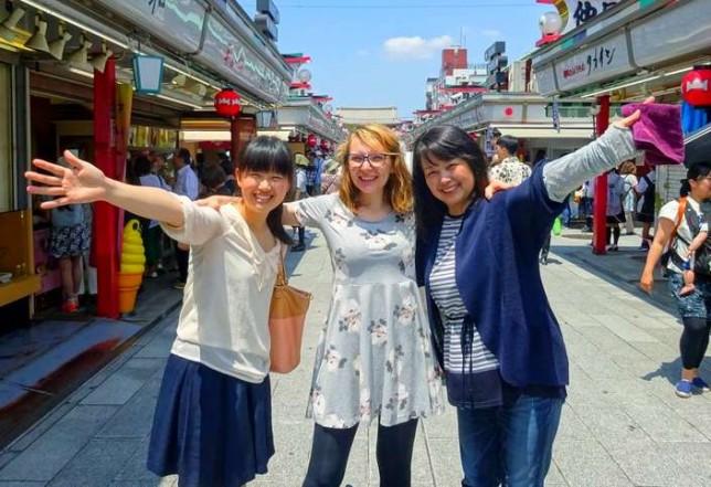 Keiko, moi & Noriko, Tokyo