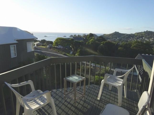 La terrasse de notre maison
