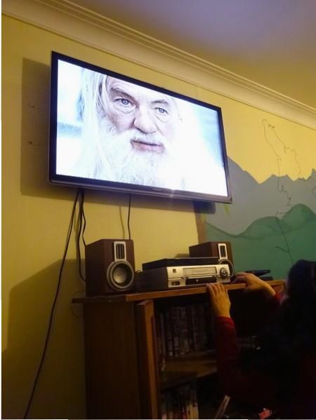 Gandalf en VHS