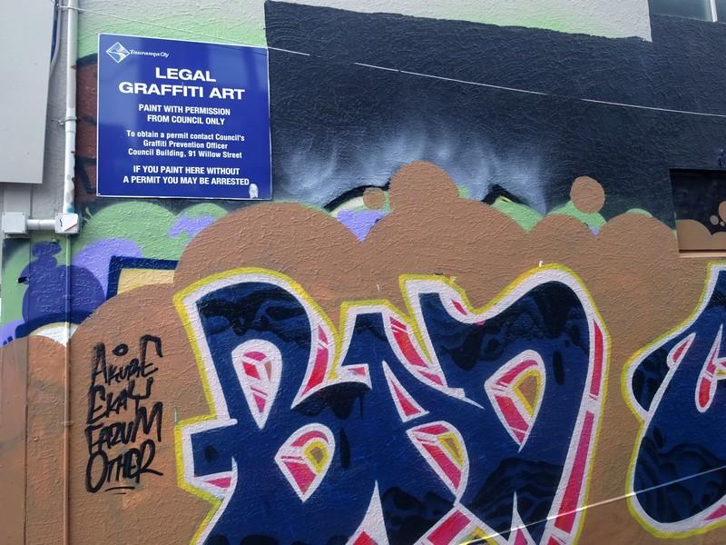 Street Art Walk dans Tauranga