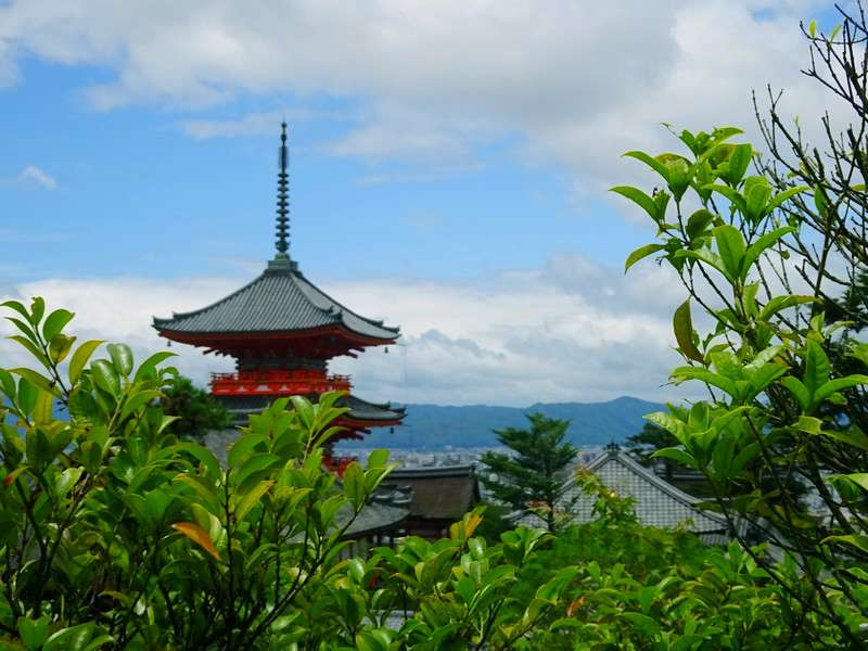 THREE BUDDHIST TEMPLES IN JAPAN