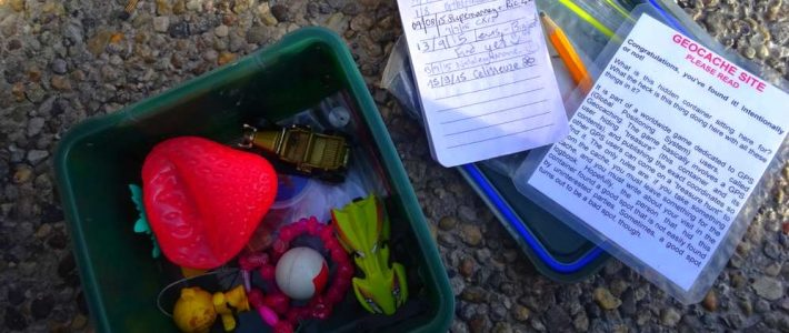 GEOCACHING WHILE TRAVELLING