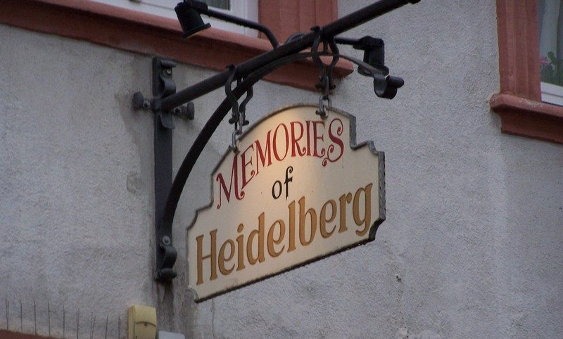 HEIDELBERG AND THE GERMAN ROMANTICISM