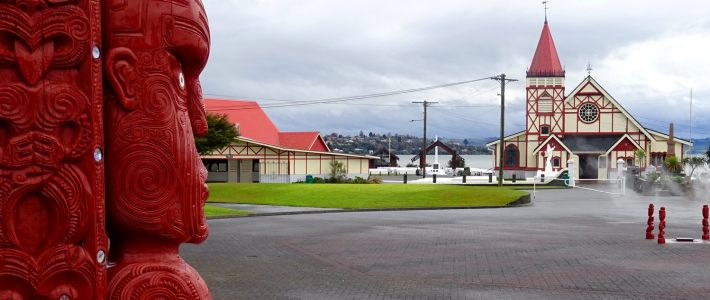 ROTORUA, THE SMOKING CITY